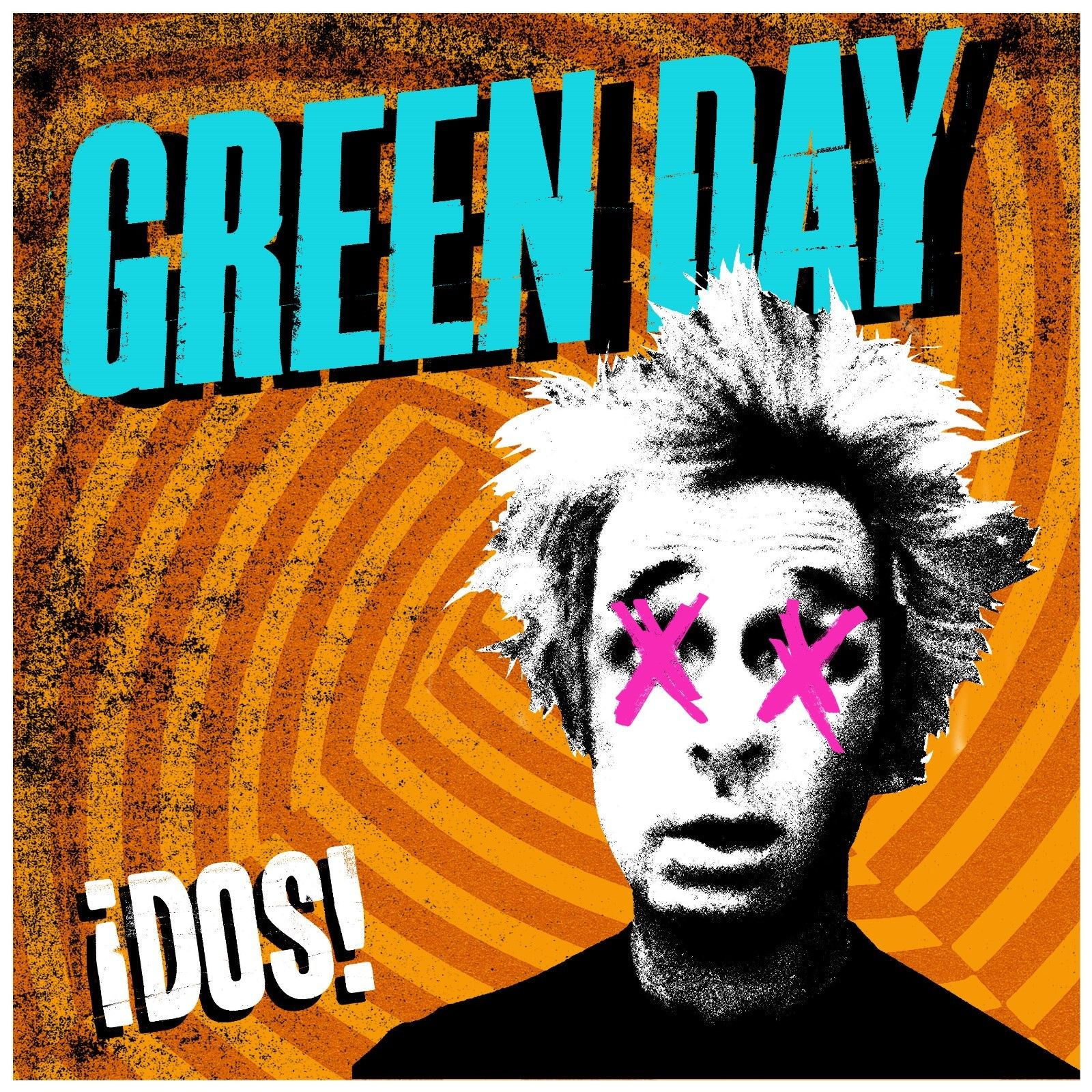 Green Day Christmas.Green Day Idos Album Cover Wall Art Sticker Unusual Christmas Gift Man Cave