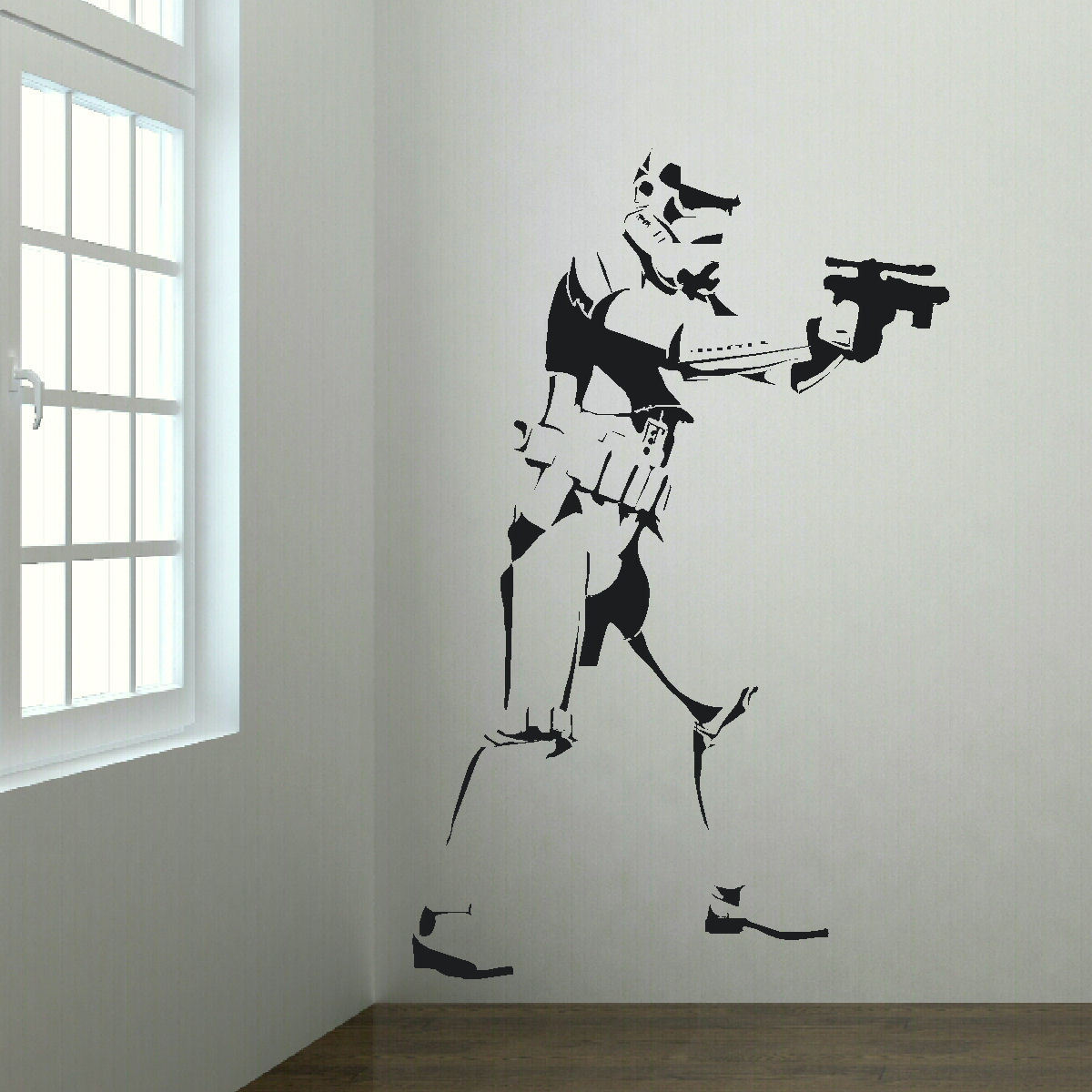 Extra Large Storm Trooper Star Wars Life Size Wall Art Big Mural Sticker Decal Jewelry